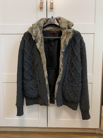 Sweter z cicikiem Zara Man rozmiar M