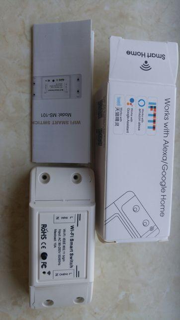 smart switch Wifi переключатель комутатор розетка Esp8285