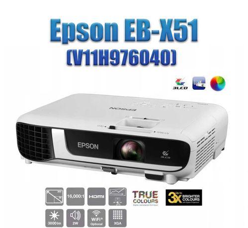 Проектор Epson EB-X51 (V11H976040) 3LCD XGA/3800AL