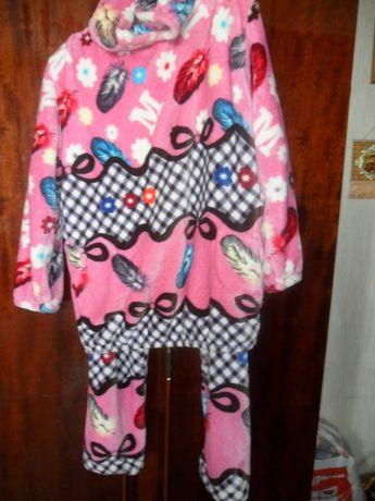 Пижама -домашний костюм -уютная,теплая ,комфортная!