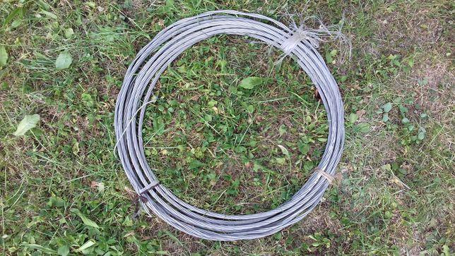 Lina aluminiowa 8 mm splot: 1x7 - 11 mb