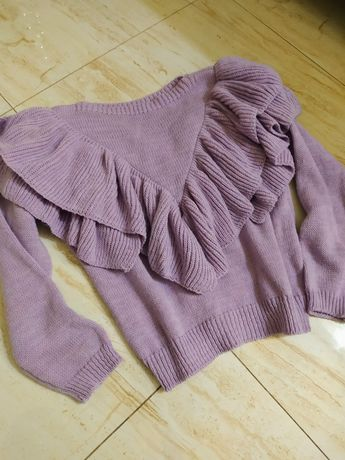 Sweter damski lila folet s m l