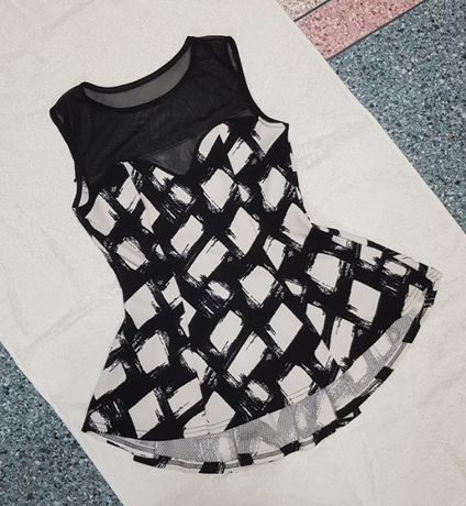 Блуза сетка с баской TU, р. XS/S