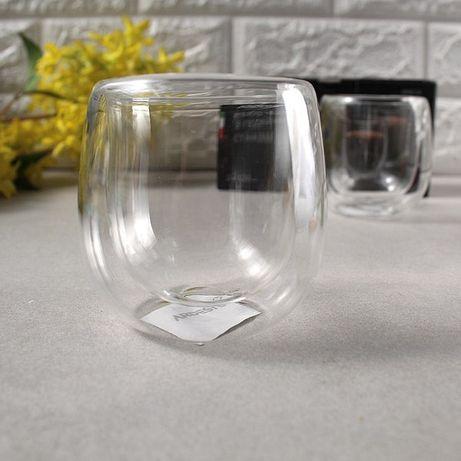 Набір склянок з подвійними стінками для кави