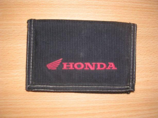 Carteira Honda preta  porta moedas motas marca ORIGINAL!