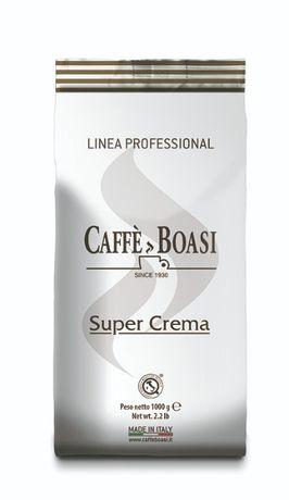 Кофе в зернах Caffe Boasi Super Crema 1кг (Боази), Италия