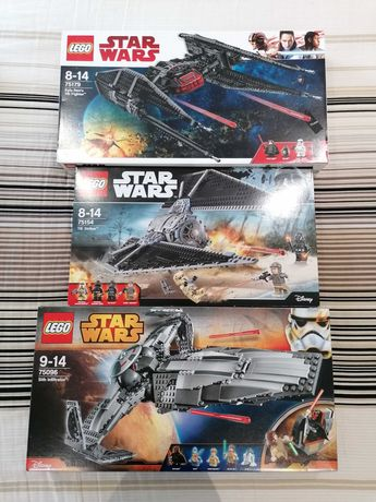 Lego Star Wars 6206, 7915, 8017, 75082, 75094, 75104, 75153, 75154