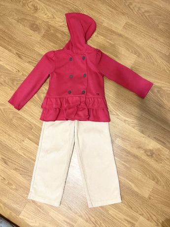 Кофта Calvin Klein и штаны Reserved на девочку 5-6 лет