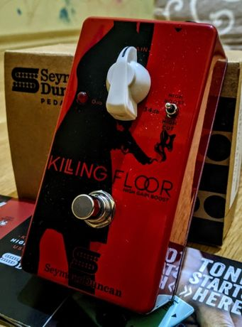 Гитарная педаль Seymour Duncan Killing Floor High Gain Boost