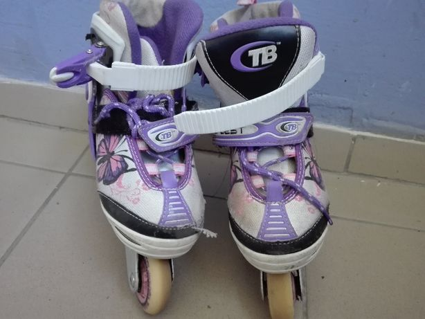 роликовые коньки для девочки по стельке 19см
