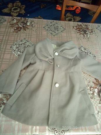 Пальто для девочки весеннее/пальто весняне для дівчинки 1 . 2 .3 роки