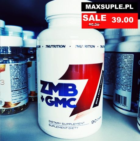 Maxsuple.pl 7NUTRITION ZMB + GMC – 90 KAPS.