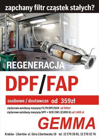 Czyszczenie filtrów DPF/FAP