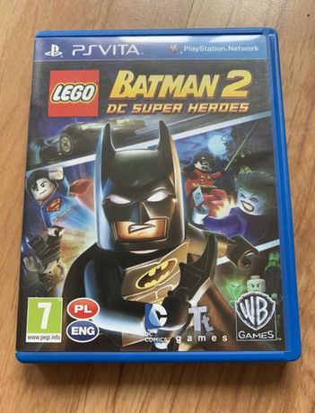 Lego batman 2 oraz Marvel Avengers [PS Vita]