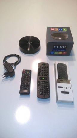 ТВ-приставка MBOX S82 16 Гб+Унивеpсальный пульт MEASY RC11 Air Mouse