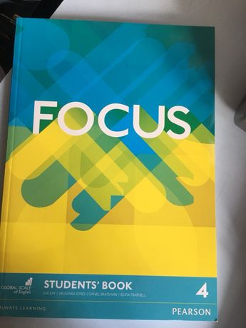 Focus 4 Pearson students book + tests