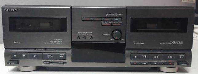 Sony TC-D607 Cassetes Deck Vintage 1992
