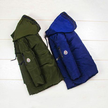 Куртка зимняя удлиненная, полупальто, куртка на зиму