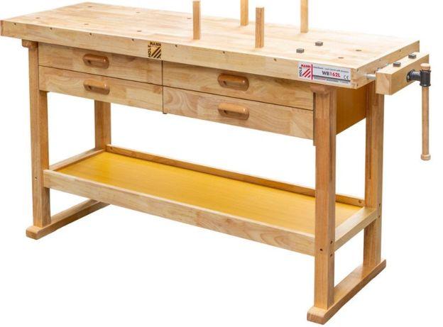 Bancada de trabalho / Carpinteiro em madeira 1625x510x860 mm