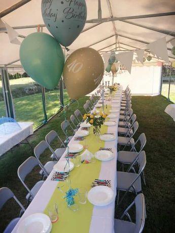 Wynajem namiotów imprezowych , cateringowych z wyposazeniem