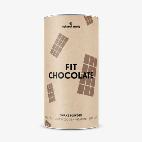 Natural mojo fit shake chocolate 500g nowy
