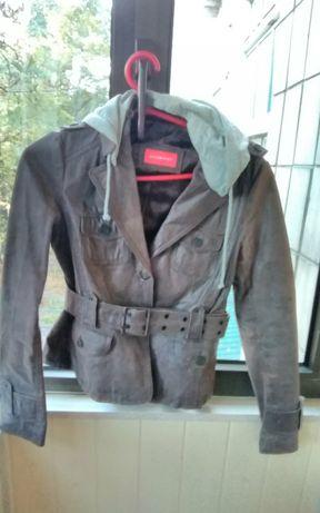 куртка парка бренд кожа кожаная натуральная