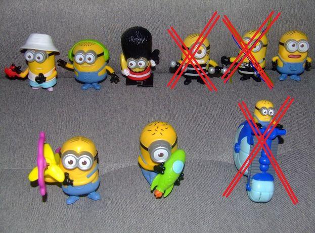 Minionki figurki zabawki