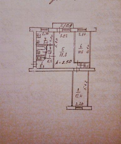 3-х комнатная, средний этаж, идеальное расположение Мазепы/ РабочаяL