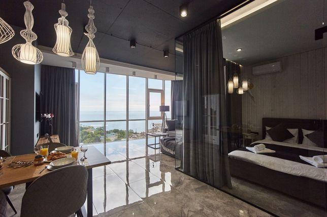 Люкс апартаменты в Аркадии с видом на море