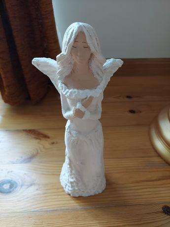 Ceramiczny gliniany anioł figurka wysokość 33cm