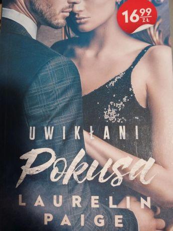 "Książka ""Uwikłani - Pokusa"" Laurelin Paige"