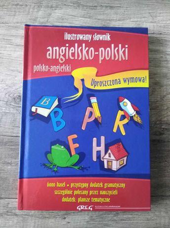 Ilustrowany słownik ang-pol, pol-ang dla dzieci nowy