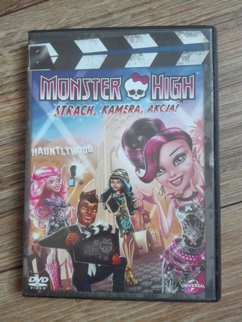 Monster High Strach, kamera, akcja DVD