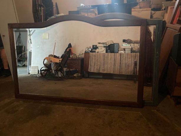 Espelho Grandes dimensões madeira maciça