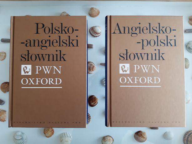 Słownik polsko-angielski i angielsko-polski. PWN OXFORD