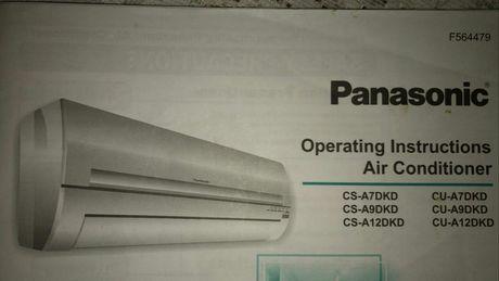 Кондиционер Panasonic .