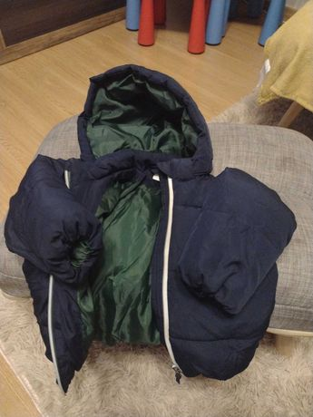 Sprzedam kurtkę chłopięca zimowa firmy hm rozmiar 86