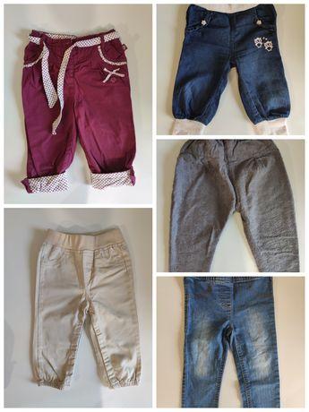 Wysyłka GRATIS Spodnie 74/80