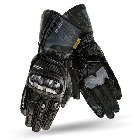 Rękawice Motocyklowe Shima STR-2 Skórzane Sportowe