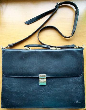 Мужская сумка-портфель Bollini, с ремнем через плечо