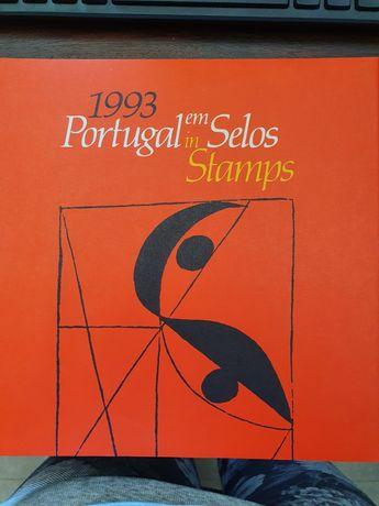 Livro Portugal em selos 1993
