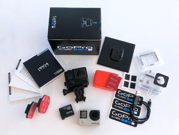 GoPro 4 BLACK (4K) + akcesoria