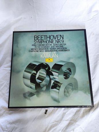 Conjunto de discos de vinil música classica, música francesa, fados