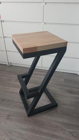 Industrialny hoker, krzesło barowe