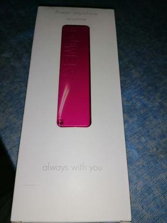 Powerbank pink novo