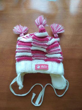 Зимняя шапочка (Raster) на девочку
