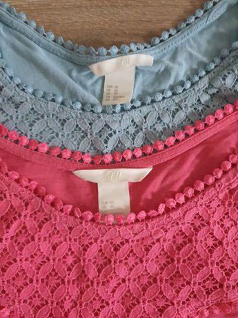 H&M bluzki z koronka rozmiar 34 XS