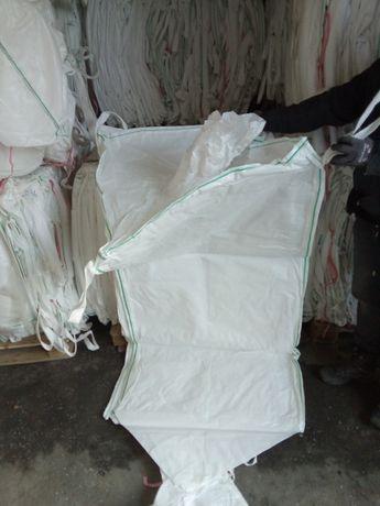 Big Bag Używany 90x90x170 cm z lejem !