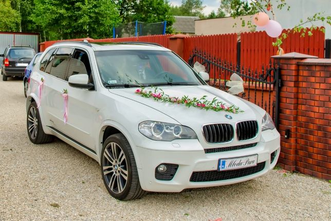 Auto samochod do ślubu BMW X5 performance M