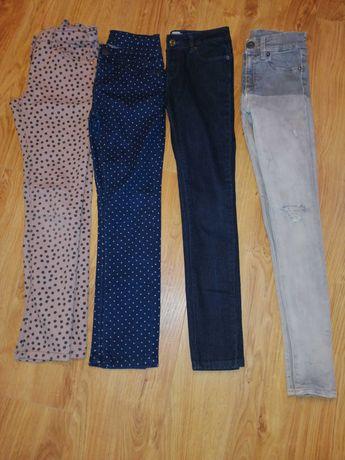 spodnie 134/140 dla dziewczynki